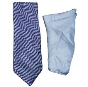 Joseph Abboud Silk Tie and Pocket Square